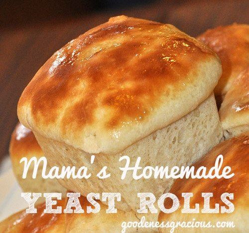 Homemade Yeast Rolls