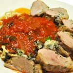 Italian Stuffed Duck with Shallot Basil Marinara