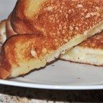 Havarti Grilled Cheese with a Side of Jungle Jim's