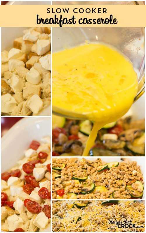 Crock Pot Breakfast Casserole Recipe