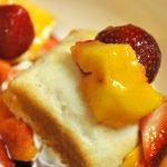 Peach-Berry Shortcake