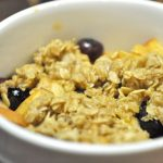 Apple & Berry Breakfast Crisp
