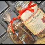 Coconut Brownies in a Jar