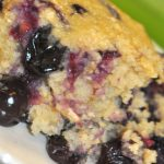 Whole-Grain Blueberry Coffee Cake