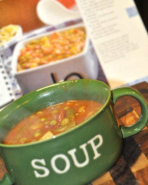 BBQ Sloppy Joe Soup