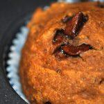 Pumpkin Pecan Chocolate Chip Skinny Muffins