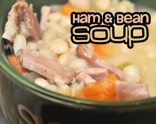 Ham and Bean Soup - GOODEness Gracious