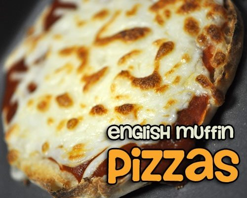 100 Calorie English Muffin Pizzas Goodeness Gracious