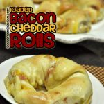 Loaded Bacon Cheddar Rolls
