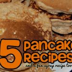 5 Pancake Recipes {Bonus: Nutella Syrup}