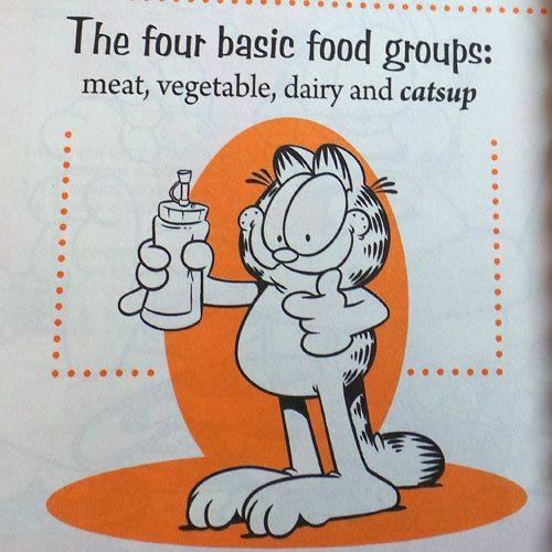 Garfield Catsup