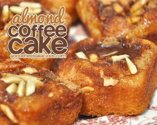 Almond Cinnamon Rolls