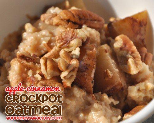 Crockpot Overnight Oatmeal