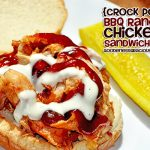 Easy BBQ Chicken Sandwiches