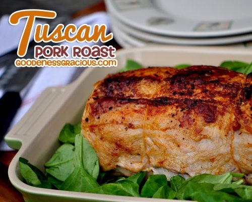 How to roast a pork loin