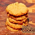 Peanut Butter Cookies {4 Ingredient}