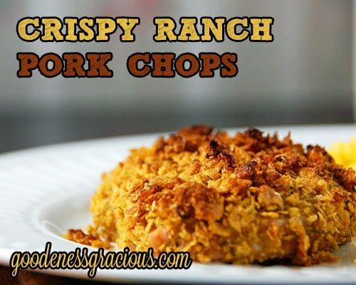 Breaded ranch pork chop recipes