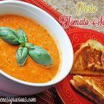 Pesto Tomato Soup