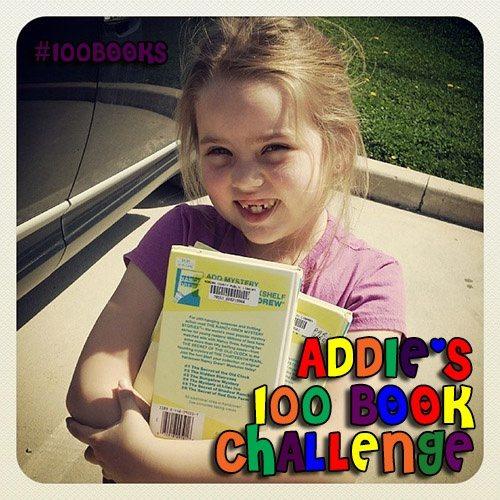 Addies 100Book title