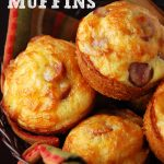 Cheesy Corn Dog Muffins