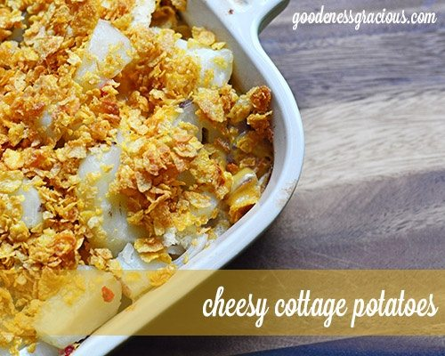 Cheesy Cottage Potatoes