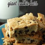 Easy Giant Cookie Bars