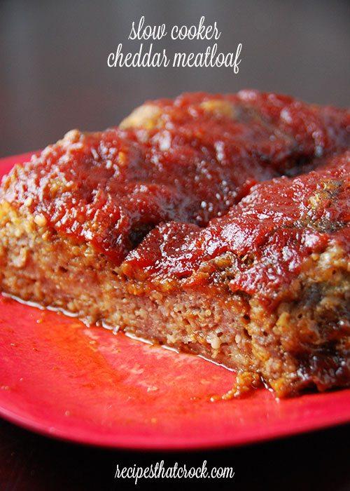 Slow-Cooker-Cheddar-Meatloaf