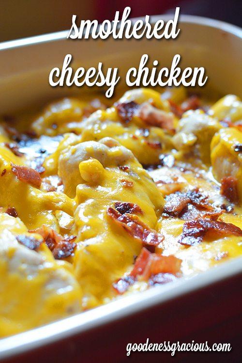 Cheesy Chicken Potatoes