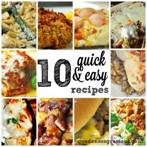 30 minute meals