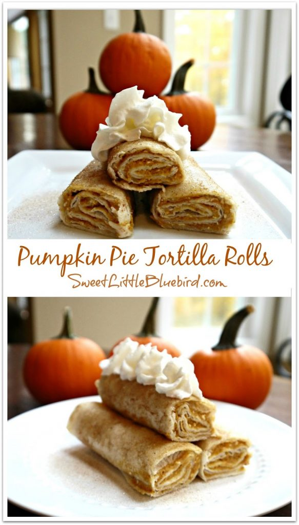 pumpkin pie tortilla rolls 1b