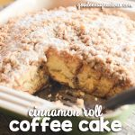 Easy Cinnamon Roll Coffee Cake and Folgers Perfect Measures