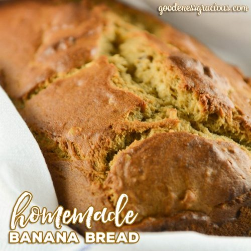 Homemade Banana Bread Recipe: Are you looking for a great Homemade Banana Bread recipe? We love the texture and taste of this great recipe.